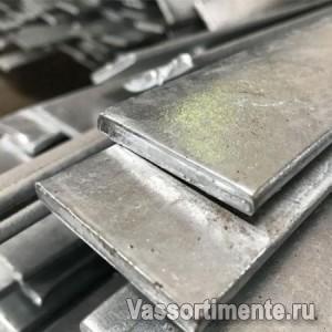 Полоса оцинкованная 100х5 мм ст.3 L=6м ГОСТ 9.307-89