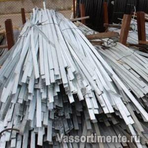 Полоса оцинкованная 120х10 мм ст.3 L=6м ГОСТ 9.307-89